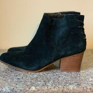 Aldo Black booties size 7.5, almost new